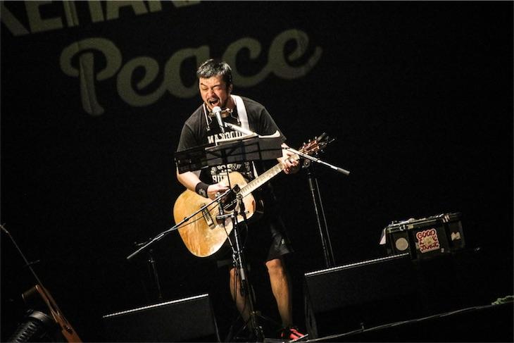 竹原ピストル、初武道館ライブをWOWOWで2月17日に放送!