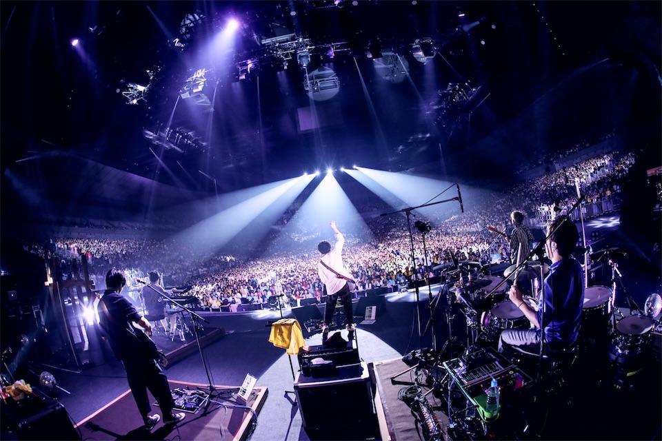 sumika「イコール」初披露!横浜アリーナ12000人を魅了!