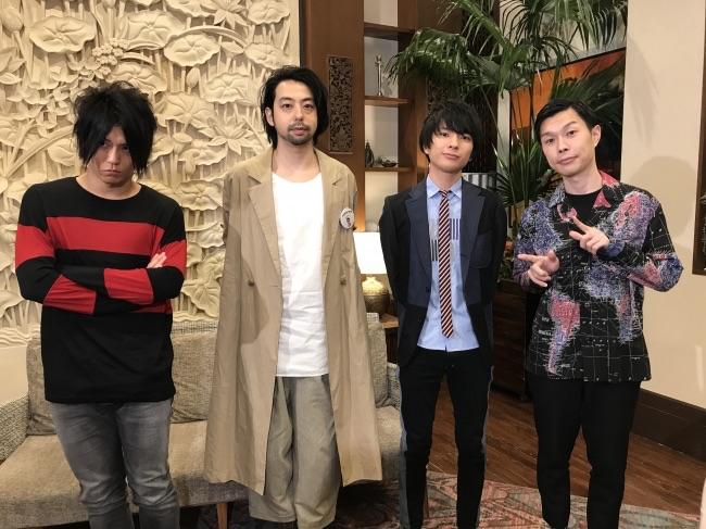 UNISON SQUARE GARDEN、特別番組をスペースシャワ―TVでオンエア!