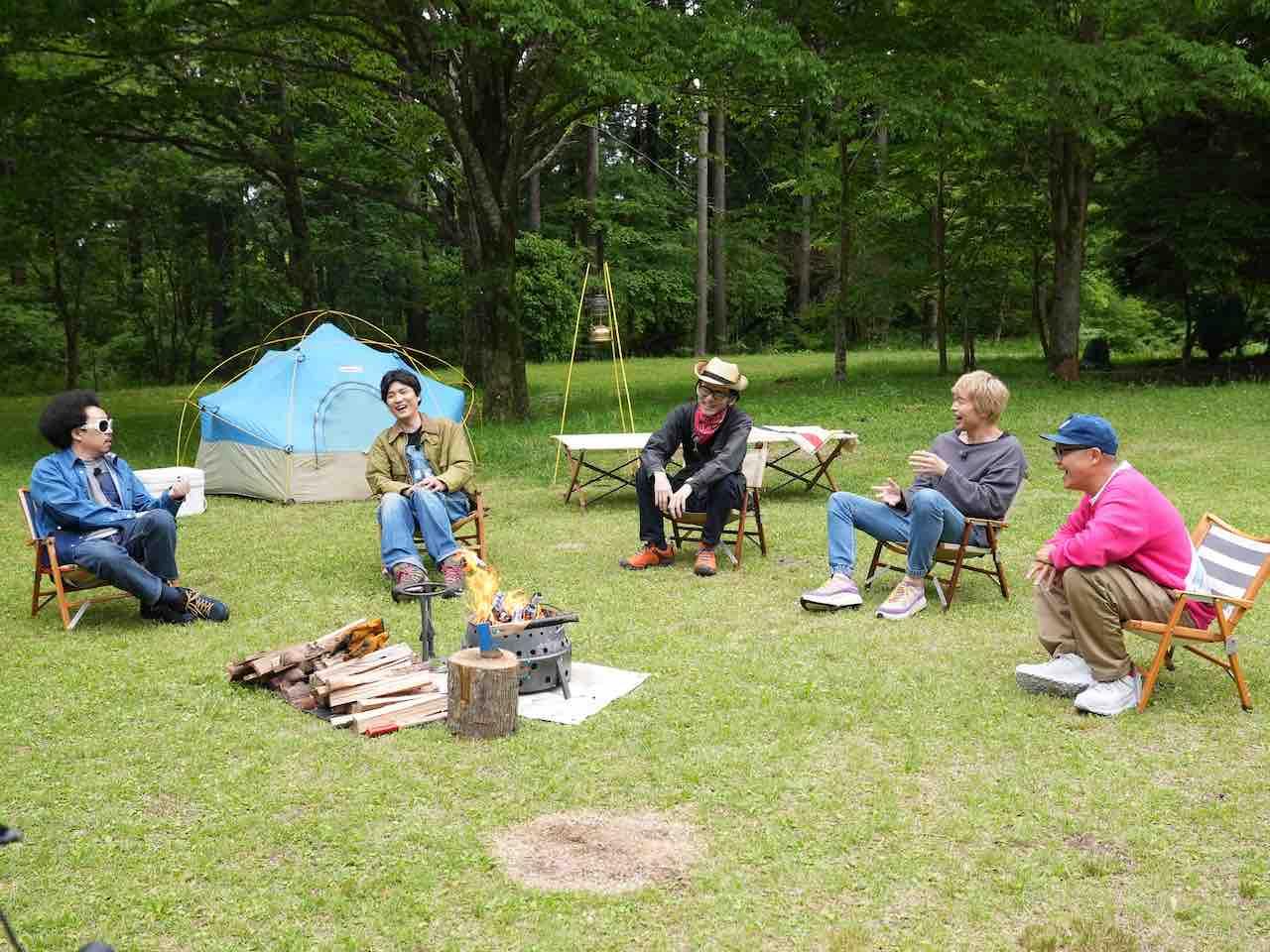 フィッシュマンズ出演!CAMP TVで「いかれた Baby」を披露!