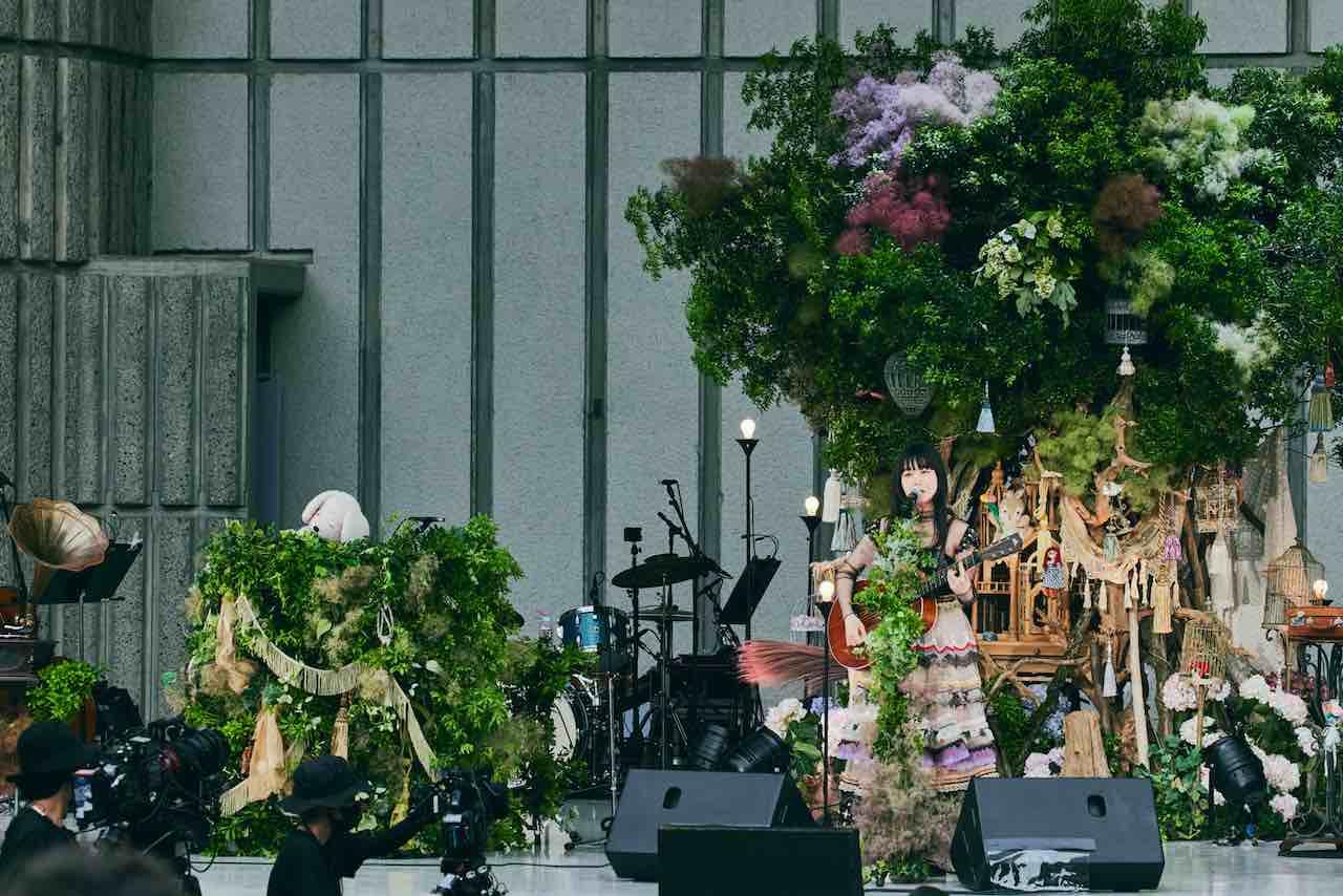 吉澤嘉代子、念願の野音ワンマンを映像作品化!オフィシャルライブレポート到着!